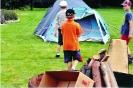 Jugendzeltlager 2005